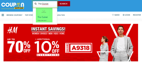 The Outnet Coupon.com.eg